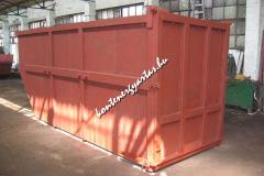 12 m3-es, lengőajtós konténer (12HNYA)