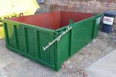 5 m3-es, lenyitható oldalú, daruzható, tároló konténer