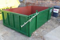 5 m3-es, lenyitható kavicstároló konténer