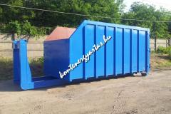 25 m3-es KCR-es, multiliftes konténer
