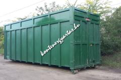 40 m3-es nyitott konténer (40GNY)