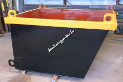 1,8 m3-es, daruzható konténer